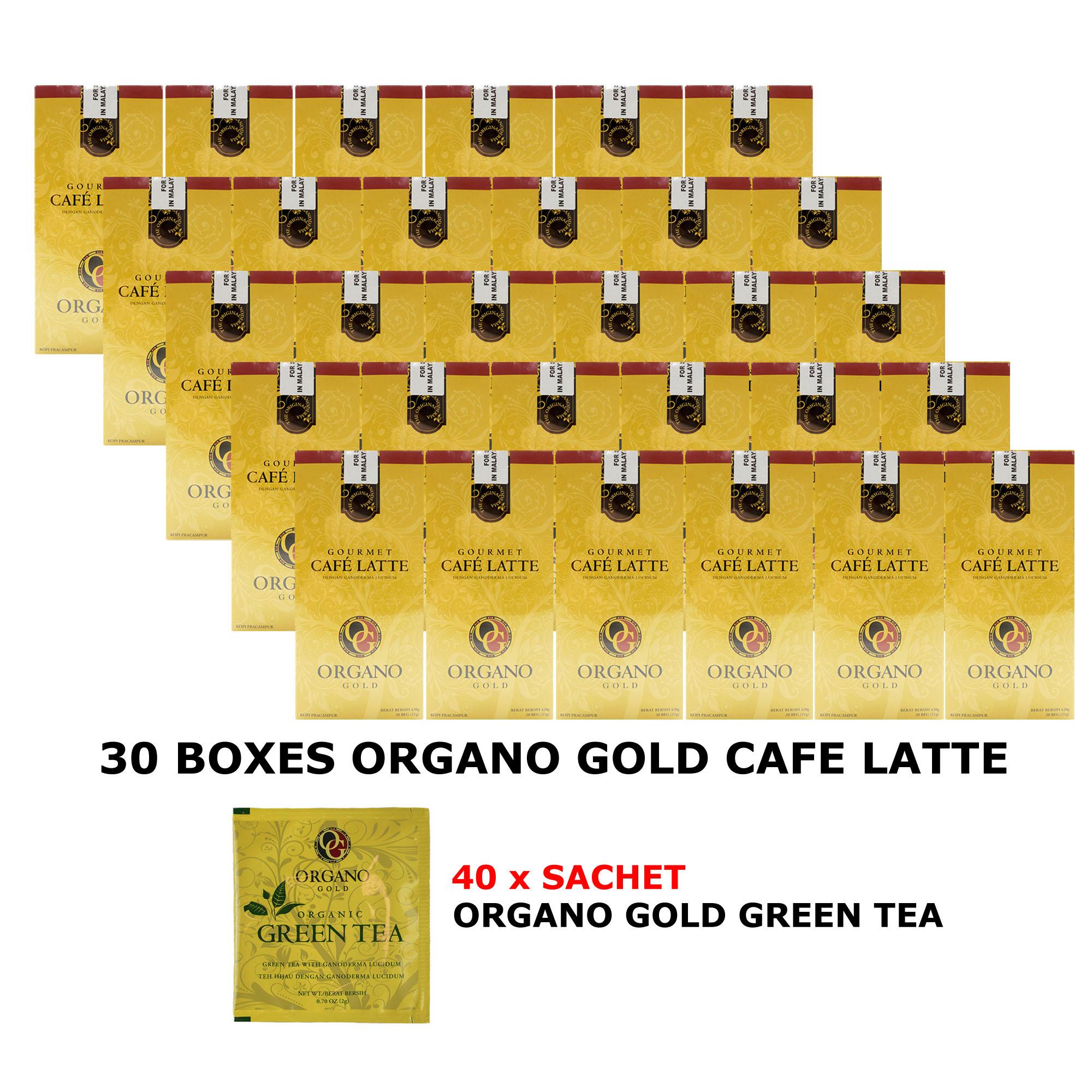 30 box Organo Gold Cafe Latte