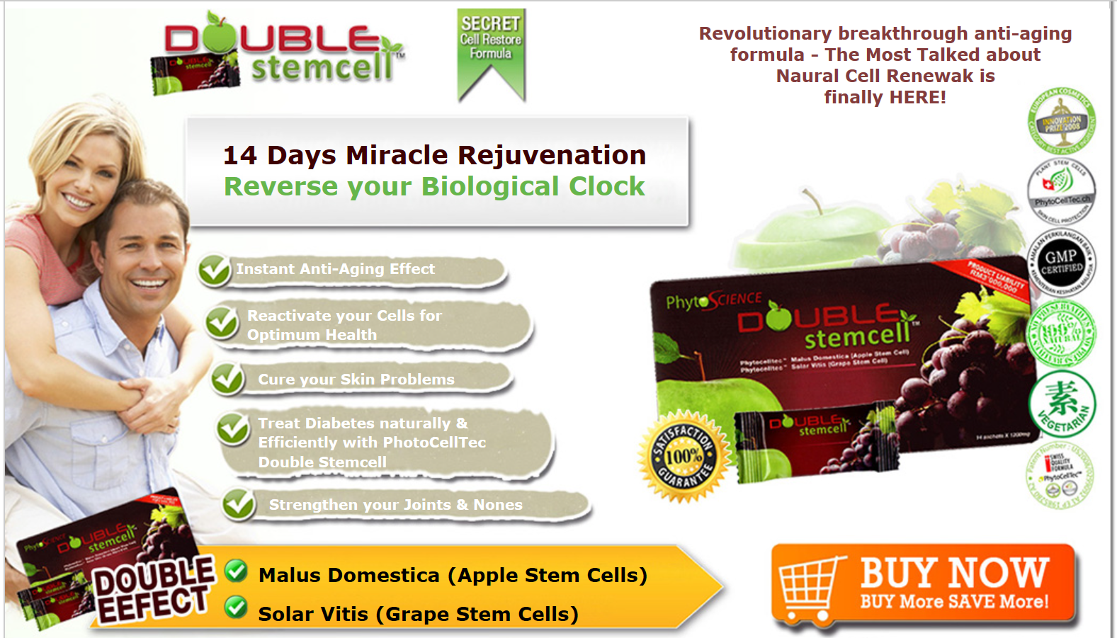 Phytoscience double stemcell anti aging